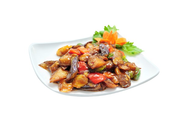 Sautéed Potato, Green Pepper and Eggplant 地三鲜