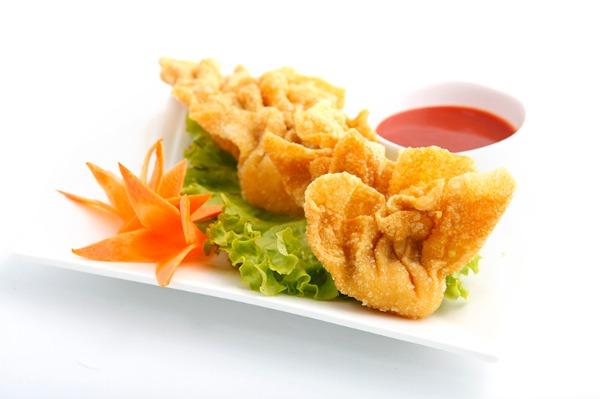 Wonton fried 炸馄饨