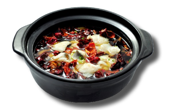 Sliced Fish in Hot Chili Oil 水煮鱼(鲈鱼)