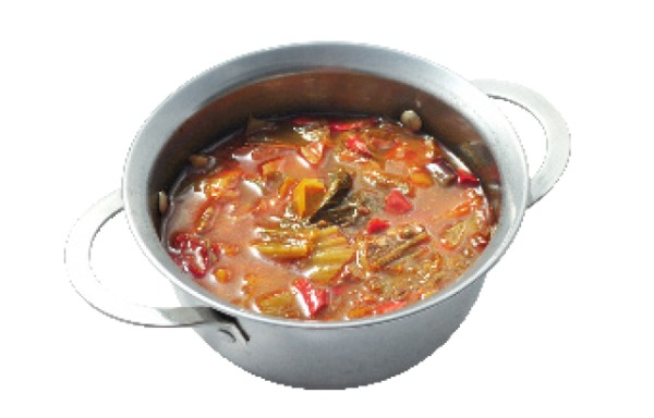 chouroute chinoise pimenté 香辣酸菜