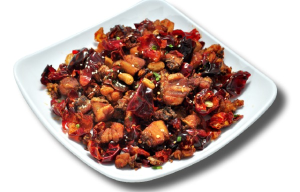 Sautéed Diced Chicken with Chili Pepper, Sichuan Style 山城辣子鸡