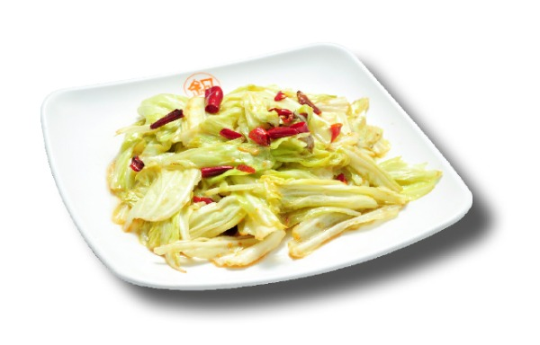 White cabbage with chili 香辣手撕包菜