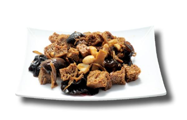 Vegetarian delights 什锦烤麸
