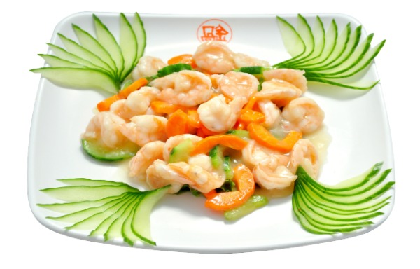Sautéed Shelled Shrimp 清炒虾仁