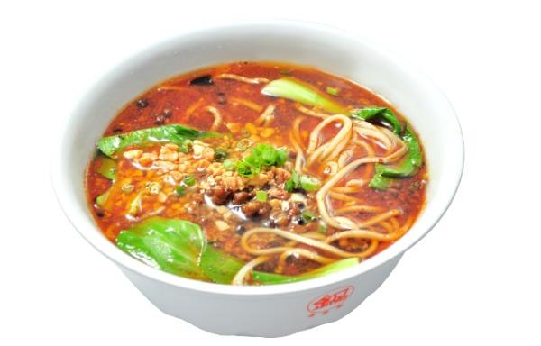 Soupe de nouilles pimentées 四川担担面