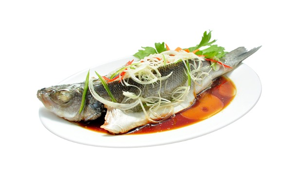 Steamed Mandarin Fish 清蒸鱼