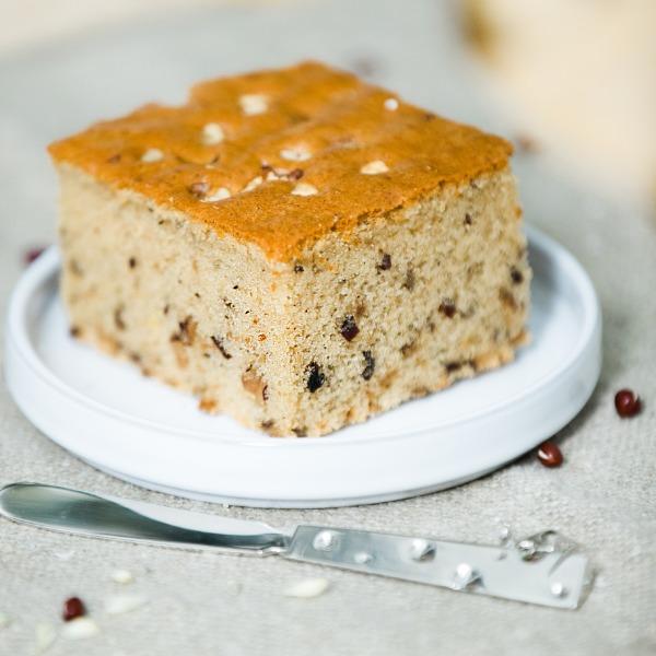 Gâteau jujube rouge&noix