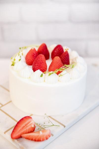Gâteau fraise 15cm