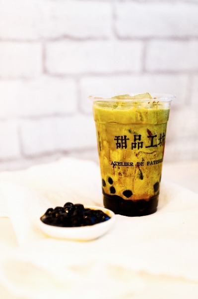 Bubble tea matcha 500ml
