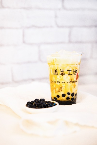 Bubble tea vert 500ml