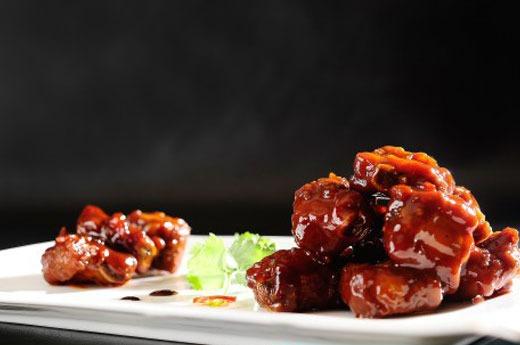 原味糖醋排骨 Tavers de porc à la sauce aigre douce