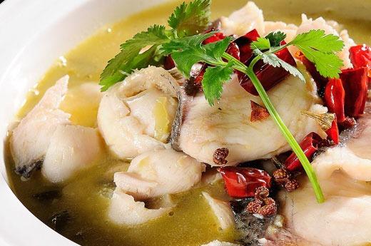 酸菜鱼 Marmité aux poisson aux choux vinaigrés