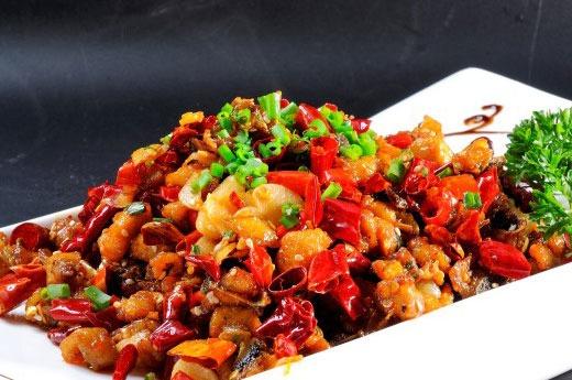 重庆辣子鸡 Poulet sauté aux piments sec (spéciale Chongqing)