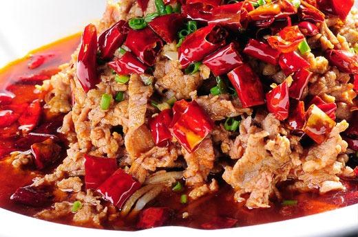 水煮牛肉 Marmité aux boeuf