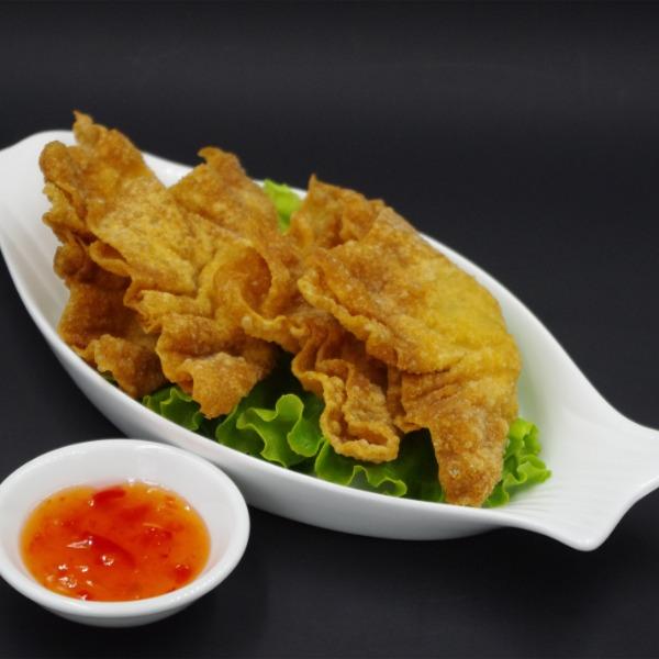 Raviolis aux crevettes frits (4 pcs)