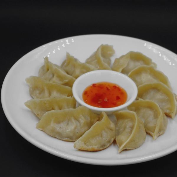 Jiaozi (raviolis) au porc et chou chinois