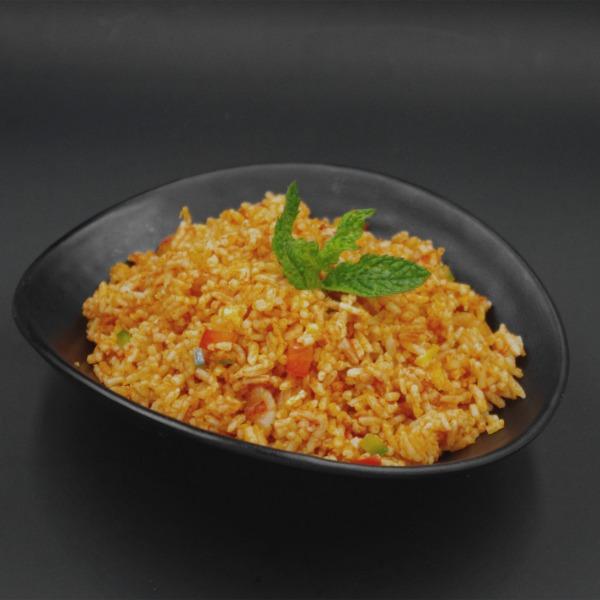 Riz thai aux crevettes