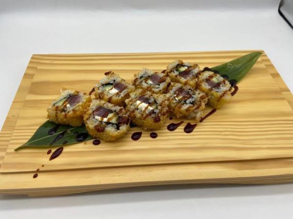 Uramaki fritto tonno (8 pezzi)