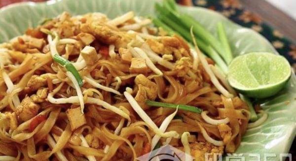 Pad thaï bœuf