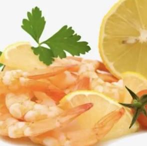 Crevettes citron