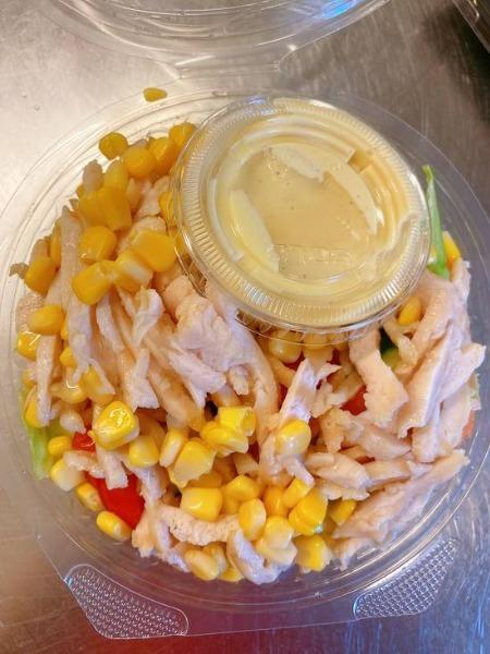 25.Salade de poulet-----petite