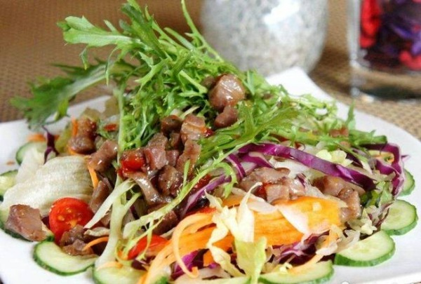 28.Salade Thaï au bœuf---grande
