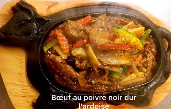 Bœuf au poivre noir