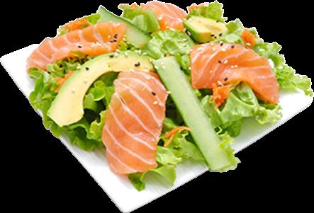 SC4 Salade de saumon    et concombre