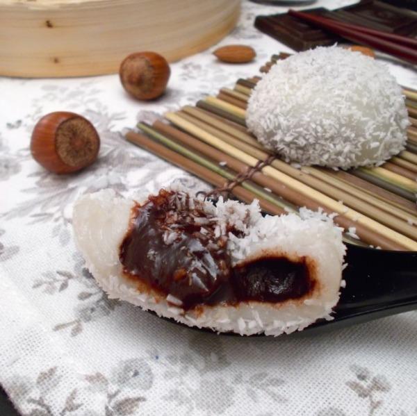 Perles de coco au pate de cacao et noisettes Bio