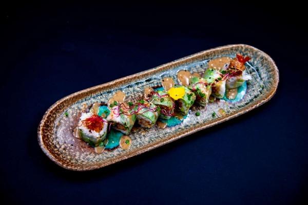 MA24 Printemps (tempura crevette,mini concombre, sauce sésame)