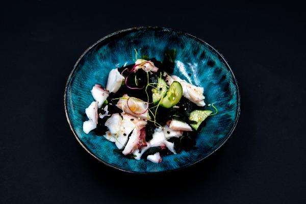 E16 Salade d'algue poulpe