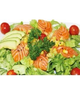 114: Salade saumon avocat