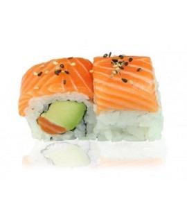 510: California royal saumon avocat 6p