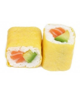 611: Yellow roll saumon avocat 6p