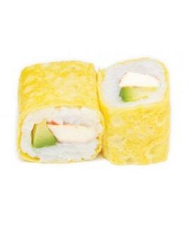 614: Yellow roll surimi avocat 6p
