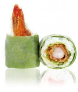 708: Light roll tempura avocat 6p