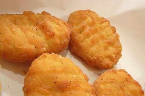 E4 nuggets de poulet 8pcs