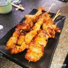 Brochettes de poulet 4pcs