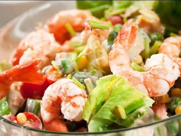 S1 salade de crevette sauce chinois