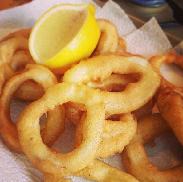 E5 Beignets de calamars 8ps