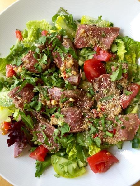 S3 salade de bœuf sauce Thaï