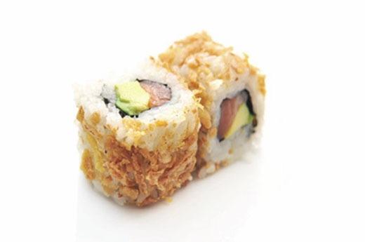 K15 Oignon frit saumon avocat