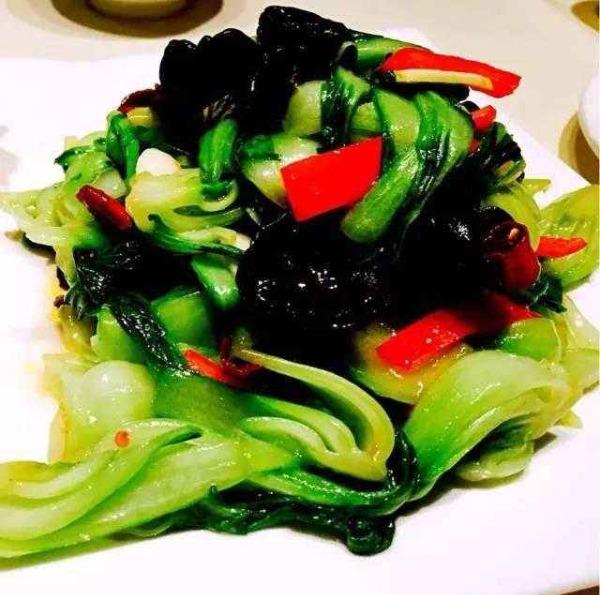 清炒小白菜