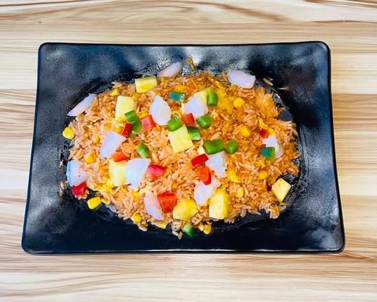 Riz thaï aux crevettes épicé 🌶🌶
