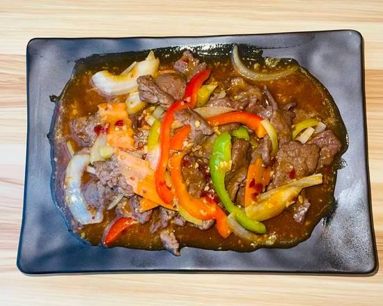 Bœuf à la sauce piquante 🌶🌶