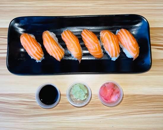 Sushi saumon 6 pcs