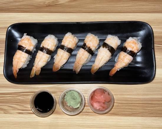 Sushi crevettes 6 pcs