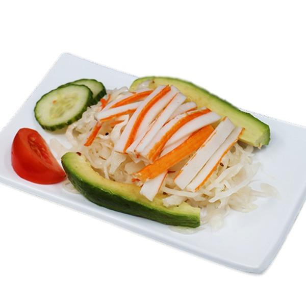 H19-salade de chou au surimi et avocat