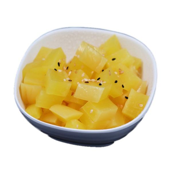 H6-radis jaune mariné