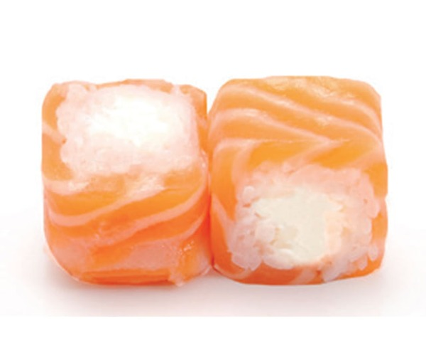 Salmon roll fromage